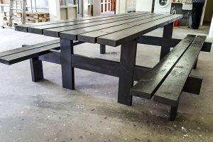 Picknick tafel van houtwaarde Heerhugowaard