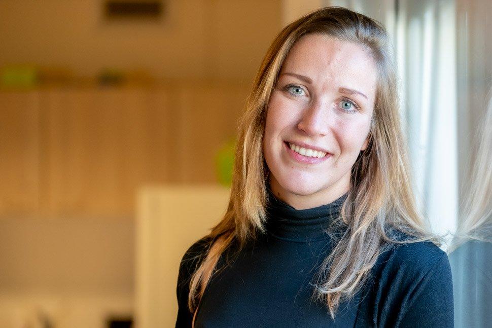Portret Fenna Hoogervorst