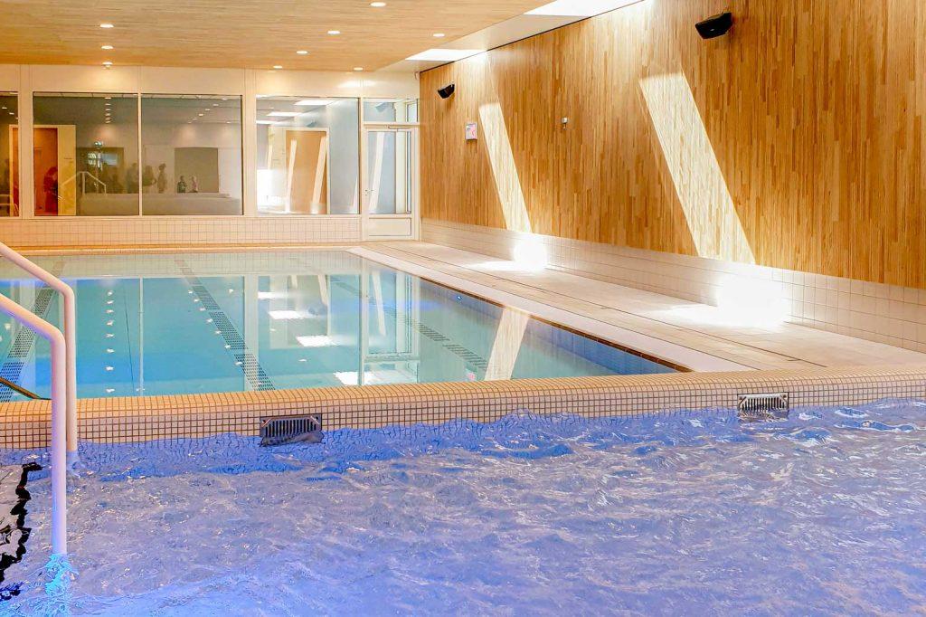 Zwembad bij steunpunt dagactiviteiten De Stroming