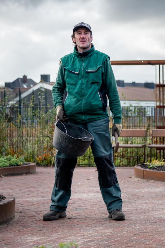 Tuinvrijwilliger bij het Erf