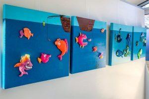 Schilderijen met vissen idee-Atelier Alkmaar